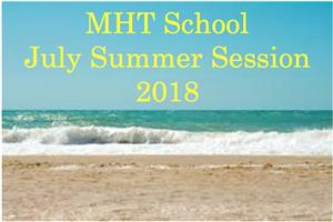 July Summer Session 2018